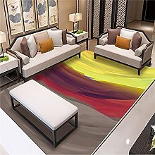 ZAZN Modern And Simple Abstract Rectangular Rug,