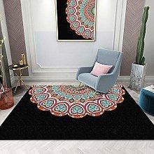 ZAZN Modern Mandala Printed Carpet Is Suitable For