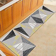 ZAZN Non-Slip Bottom Rectangular Carpet Geometric