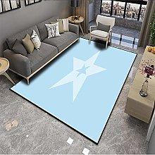 ZAZN Nordic Minimalist Stitching Carpet Is