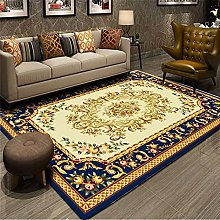 ZAZN Retro Printed Carpet, Home Decoration Sofa,