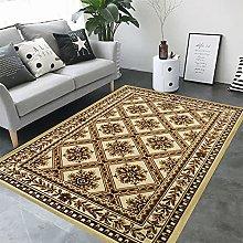 ZAZN Retro Printed Rectangular Rug, Home Living