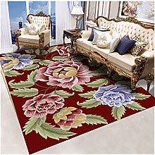 ZAZN Retro Style Rectangular Carpet Chinese