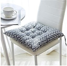 ZBBN Seat Pads Cushions, New Square Cotton Sofa