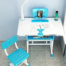 ZBBN Study Desk and Chair Set,Height Adjustable
