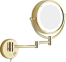 ZBY 8 inch Magnifying Double Sided Mirror,