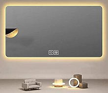 ZBY Bathroom Mirror with Led Light Wall Mounted