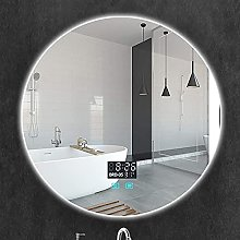ZBY Bathroom Mirrors for Wall Modern Round