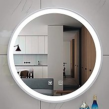 ZBY Bathroom Wall Mirror with Led Lights with