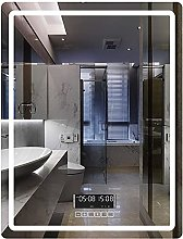 ZBY Illuminated Led Wall Mirror with Touch Switch