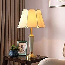 ZBY Lamp Light Ceramic Table Lamp Bedroom Bedside