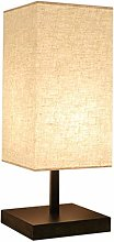 ZBY Lamp Light Iron Table Lamp, Handmade Fabric