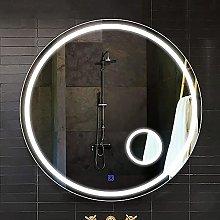ZBY Led Bathroom Magnifying Mirror Illuminated