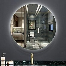 ZBY Modern Wall-Mounted Bathroom Mirror with