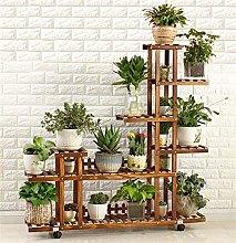 ZBY Racks Display Racks Garden Decoration Wooden