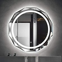ZBY Wall-Mounted Bathroom Mirror with Led Light