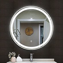ZBY Wall Mounted Bathroom Mirror with Led