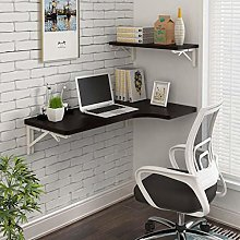 ZBYL Corner Folding Computer Table, Kitchen Wall