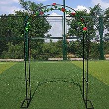 ZBYL Garden Arch Pergola Arbor With Base, Outdoor