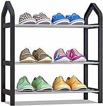 ZC Rectangular Shoe Rack 3 Layers Storage Stand