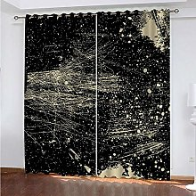 ZCFGG Noise Reducing Curtain for Living Room Art