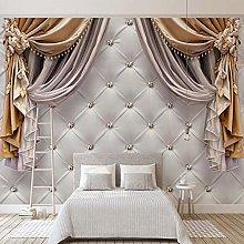 ZCLCHQ 3D Wallpaper MuralsAbstract & Curtain Photo