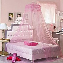 Zcm Bed Canopy dome 7 Colors Hanging Kids Baby