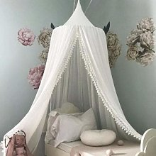 Zcm Bed Canopy dome Cotton Kid Baby Bed Canopy