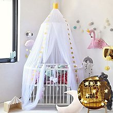 Zcm Bed Canopy dome Multi-Colors Hanging Kids Baby