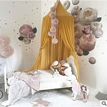 Zcm Bed Canopy dome Nordic Style Princess Lace
