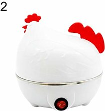 Zcm Egg boiler Chicken Shape Electric 7 Holes Egg
