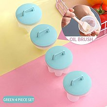 Zcm Egg Omelette Mold 4 Pcs/Set Cute Egg Boiler