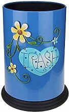 ZCM Trash Can,Garbage Tribe Floral Pattern Refuse