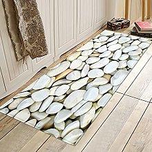 ZCMTD 3D Printed Floor Mat Kitchen Carpet Home