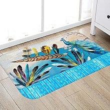 ZCMTD Printed Rugs for Bedroom Indoor Doormat Long