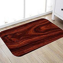 ZCMTD Wood Printed Indoor Mat Kitchen Carpet Long
