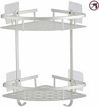 ZCY Bathroom Shelf Shelves, No Drilling Shower