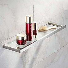 ZCY Bathroom Shelf Shelves Stainless Steel Glass