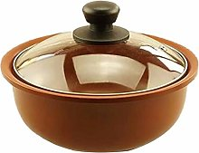 ZCY Nonstick Stockpot With Tempered Glass Lid,1.4