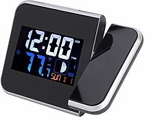 zcyg Digital Clock,Multifunctional Radio Wave