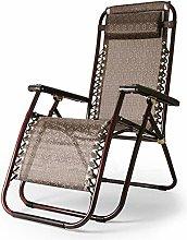 ZCZZ Garden Reclining Sun Chair Lounger Folding