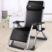 ZCZZ Reclining Garden Bed Chair Office Folding Cot