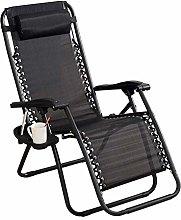 ZCZZ Reclining Garden Chair Deck Chairs Folding