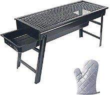 ZCZZ Tabletop Barbecue Grill for Garden Picnics