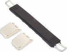 ZDA Bedroom Dresser Handle 1Pc 206mm Black Plastic