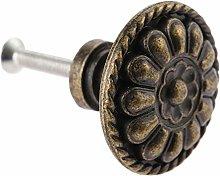 ZDA Bedroom Dresser Handle 1PC Antique Bronze