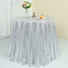 Zdada-Sequin Tablecloth-Gold Round Sequin