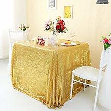Zdada-Sequin Tablecloth-Gold Seamless Sequin