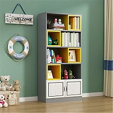 ZDAMN Bookcases Simple Bookshelf Floor Modern
