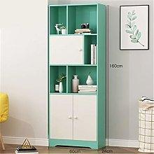 ZDAMN Bookcases Simple Bookshelf Floor Shelf Home